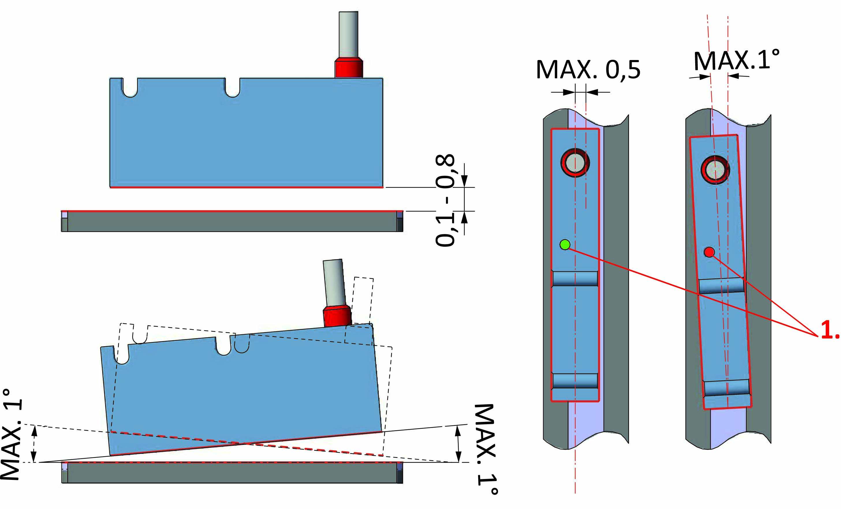 MAT2-PA50/10 Absolute position transducer MAT2 and absolute magnetic ...